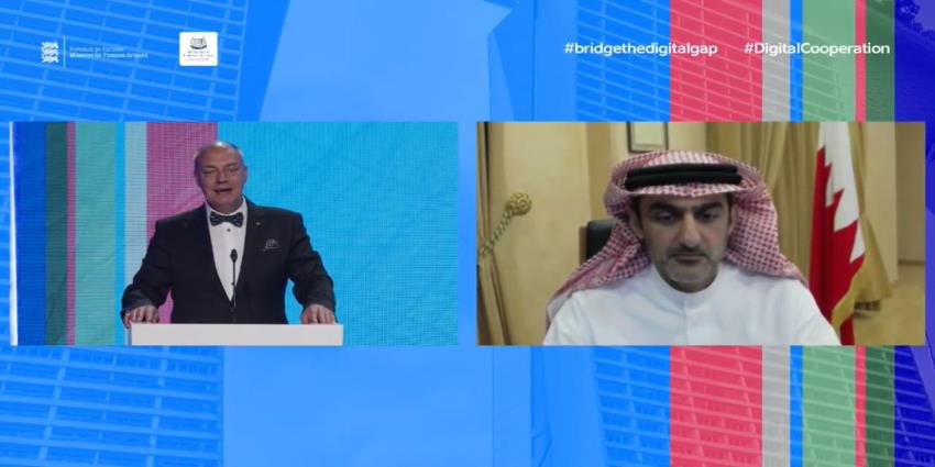 iGA Chief Executive Highlights Bahrain's COVID-19 Response at Global Ministerial Conference